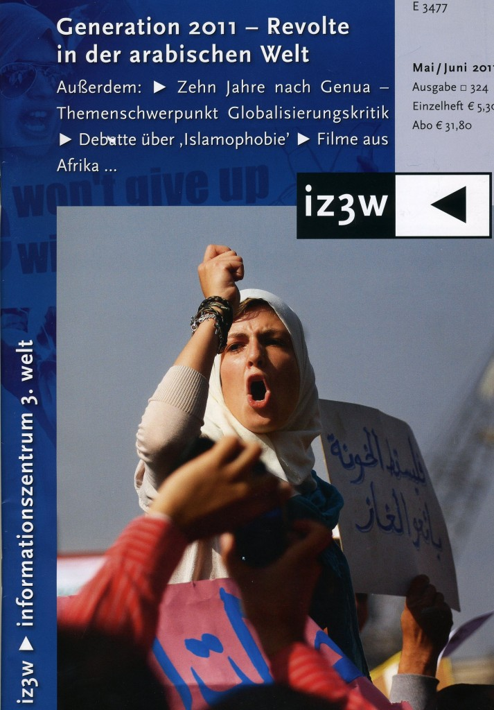 Cover iz3w, April 2011