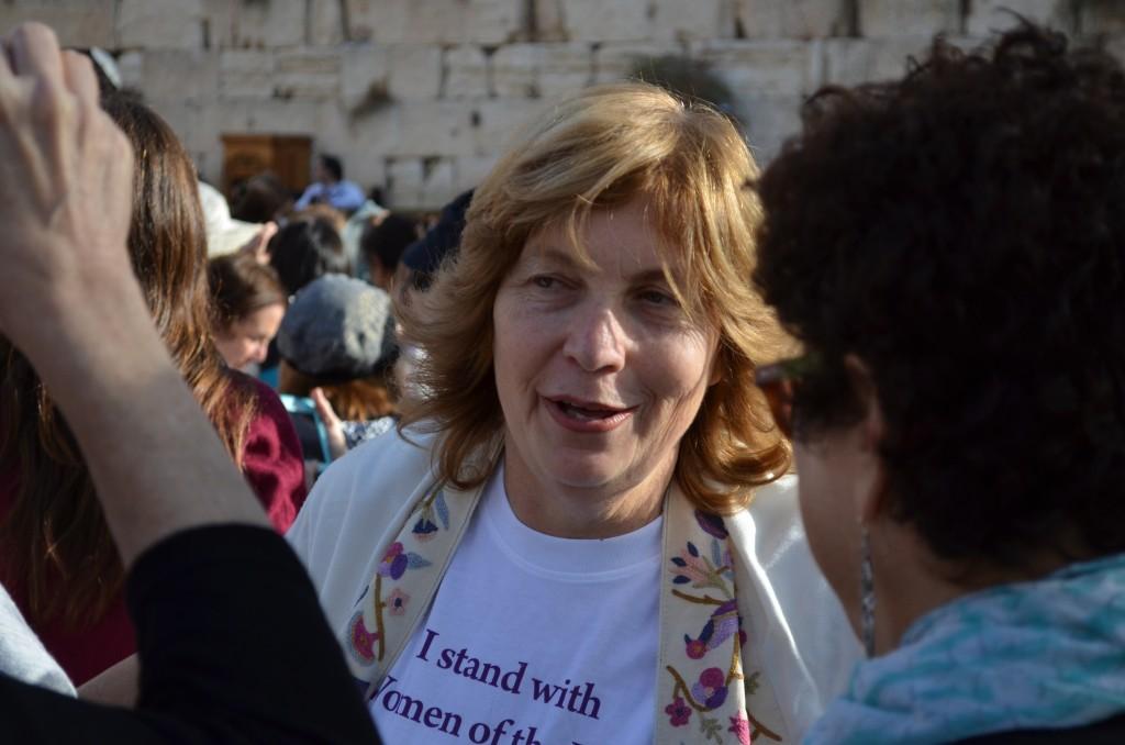 Anat Hoffman, Vorsitzende der WoW
