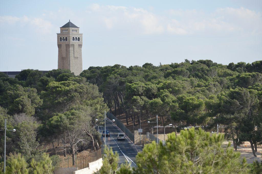 Die Himmelfahrtskirche auf dem Ölberg in Ost-Jerusalem