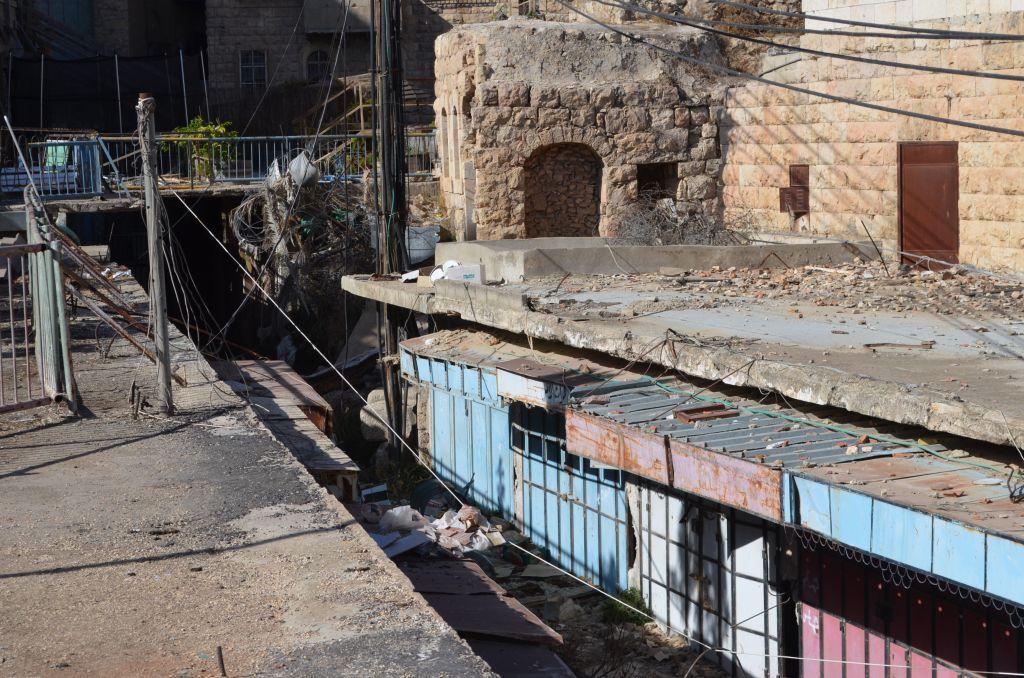 Der verlassene arabische Souk (Markt)