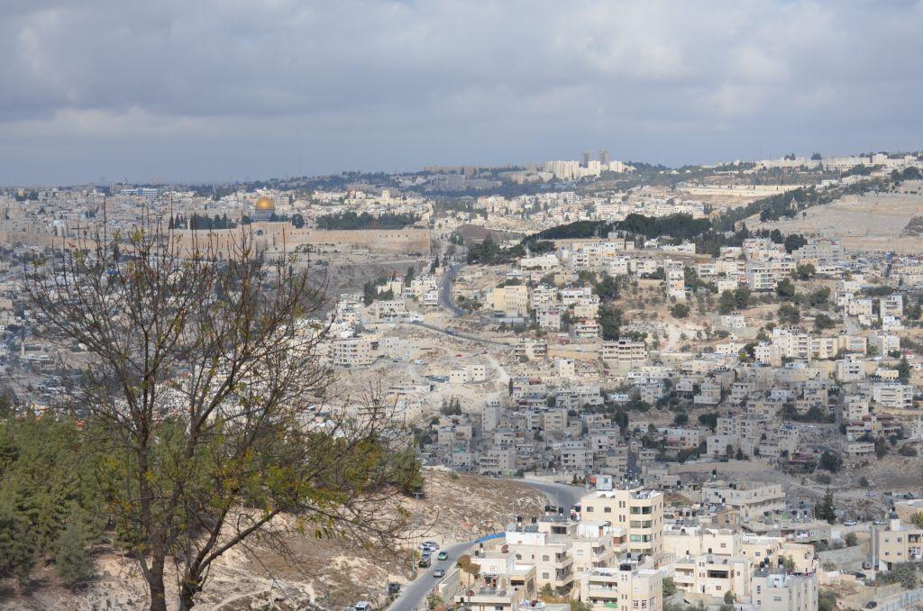 Blick von Ost-Jerusalem auf die Altstadt