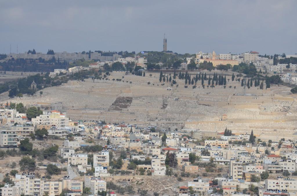 Jüdischer Friedhof in Ost-Jerusalem. November 2013