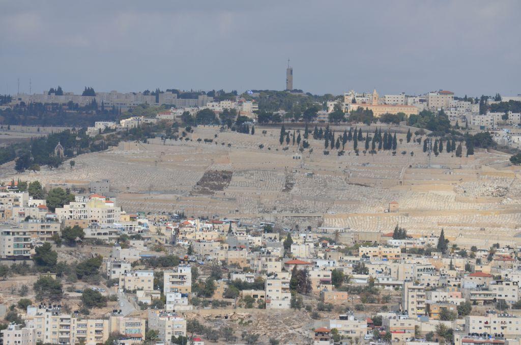 Jüdischer Friedhof in Ost-Jerusalem