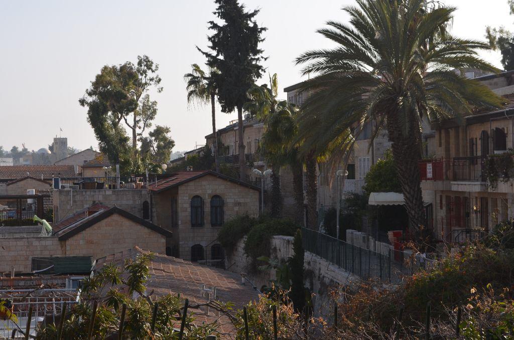 Das erste jüdische Viertel außerhalb der Altstadt: Jemin Moshe