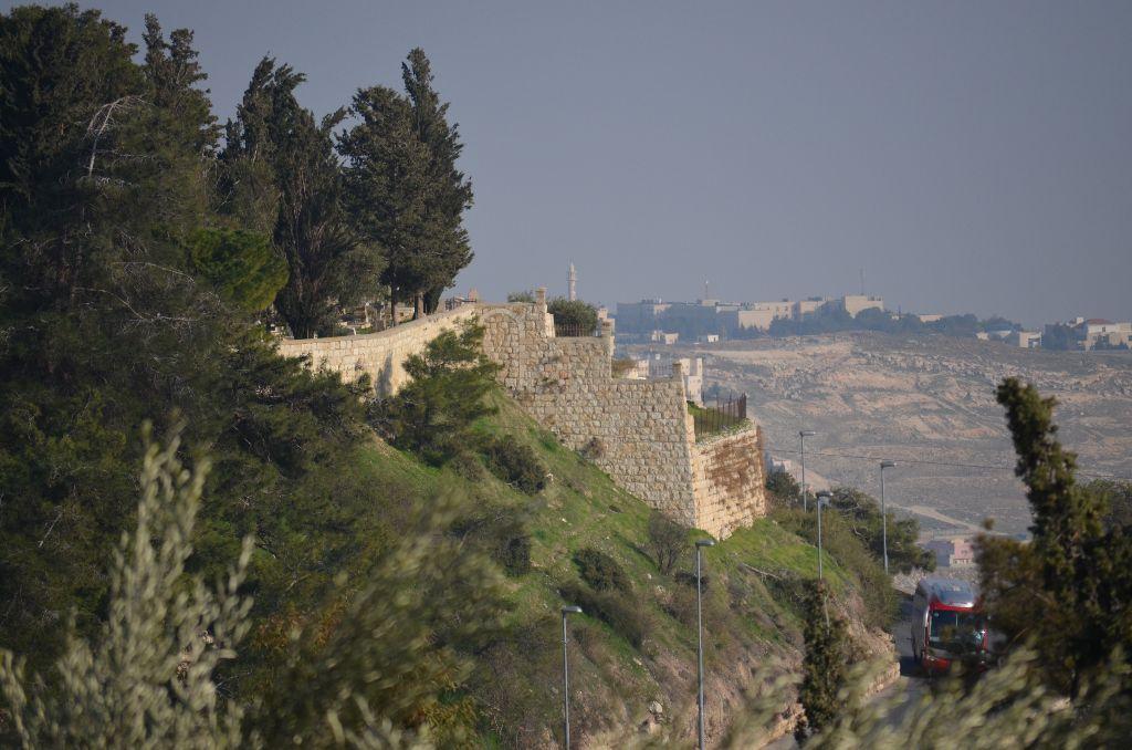 Altstadtmauer und Ost-Jerusalem