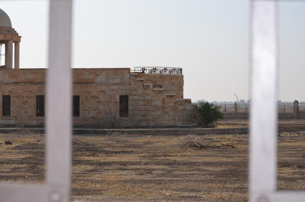 Heute Sperrgebiet, damals Klosteranlage