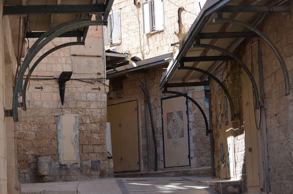 Ausgestorben: Die Altstadt von Nazareth