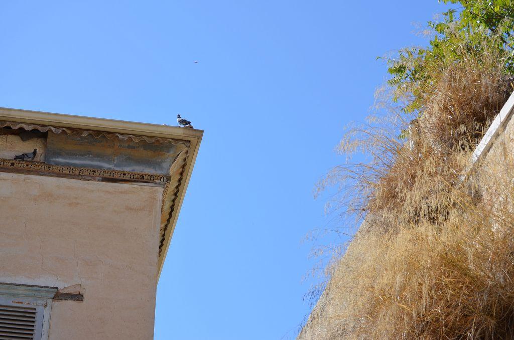 Ein Dach in Nazareth