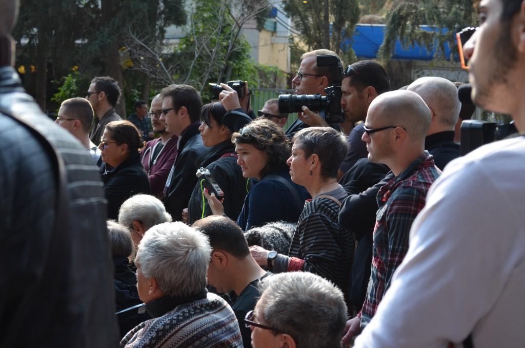 viele Zuschauer, viele Journalisten