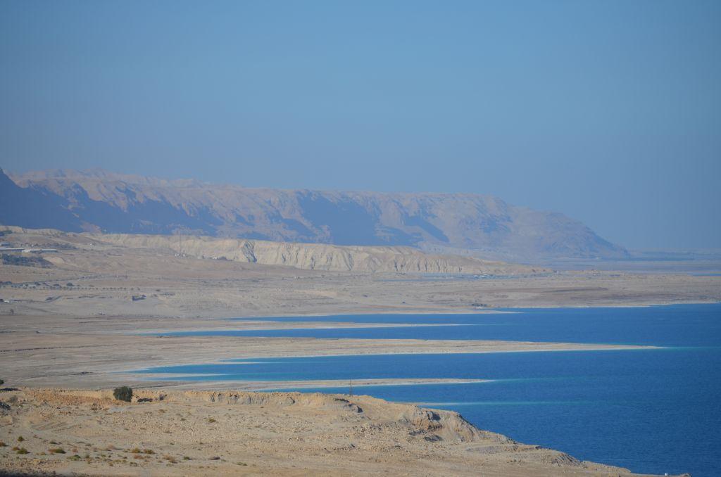 Die Küste am Toten Meer, Januar 2014