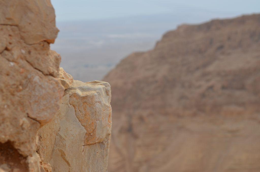 Masada. Jeder Stein erzählt eine Geschichte. Januar 2014