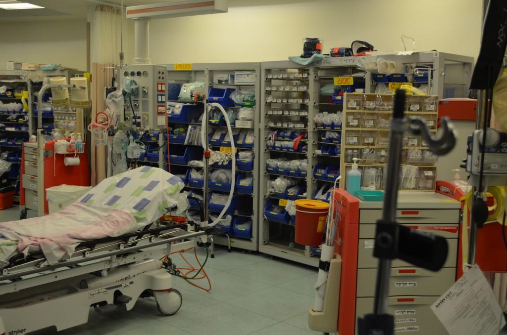 Das Trauma-Krankenhaus in Naharija gehört zu den besten in Israel, 11.03.14